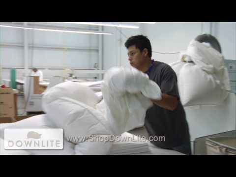 How Are Sewn Thru Comforters Made?