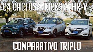 Download Comparativo: HR-V x Kicks x C4 Cactus Video