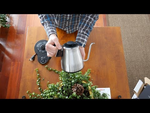 OXO on Adjustable Temperature Pour-Over Gooseneck Kettle - Unboxing and Overview in 4K - NO PLASTIC