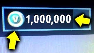 How I Won 1,000,000 Free V Bucks! (Fortnite Golf)
