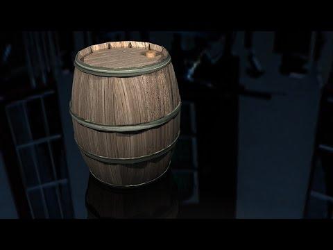 Maya tutorial : How to model a wooden Barrel