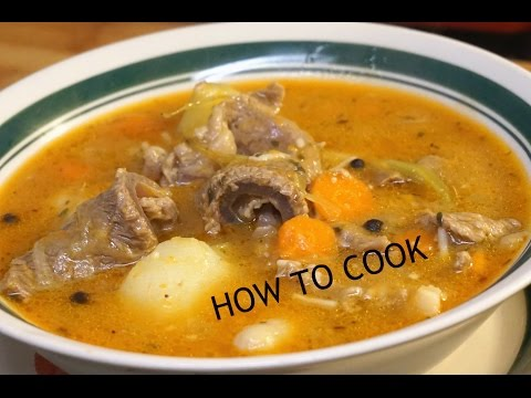 HOW TO MAKE JAMAICAN BEEF SOUP RECIPE JAMAICAN ACCENT 2016