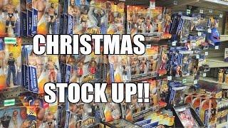 WALMART STOCKROOM WWE TOY HUNT! ToysRus Elite Series 37 Wrestling Figure Shopping