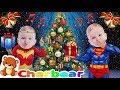 JINGLE BELLS Song For Kids Baby Superheroes Christmas Tree CHERBEAR MUSIC amp SONGS