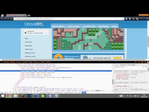 Get Any Pokemon and any level/type Working 2014 UnovaRPG