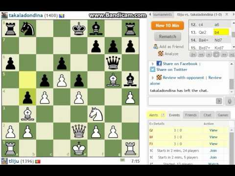 Improving my chess skills...