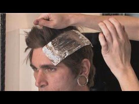 Hair Highlights & Dye : How to Dye Dark Hair Red