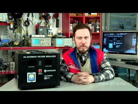 Voltage regulator Krauler VR-S10000VA