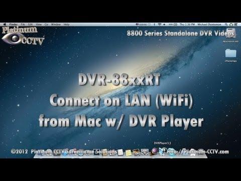 Mac Connection on LAN - DVR-88xxRT - H.264 Standalone DVR