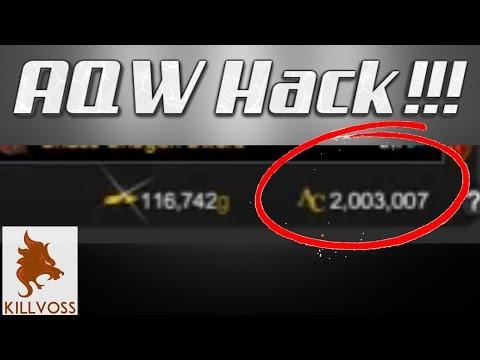 AQW | Hacking In AQW (Unlimited AC Trick) 2017