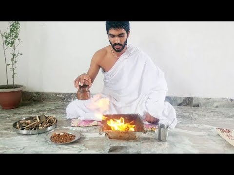 How vedic mantras Agnihotra (Homa) is performed ? Learn Agnihotra (Hawan Yagya) Process (HINDI)