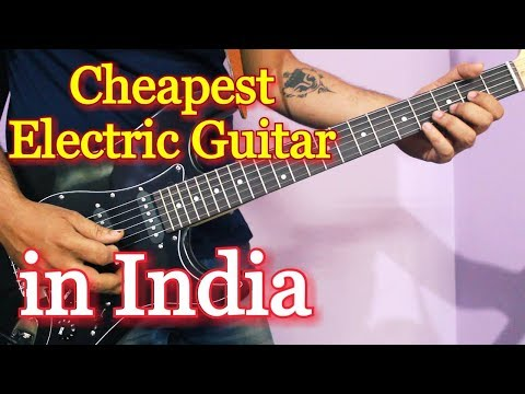 Cheapest Electric Guitar in India - Juarez Electric Guitar Review/Unboxing