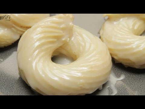 French Cruller Donuts - Full Recipe