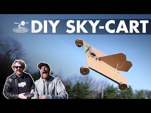 DIY SKY-CART - Maiden...flight?