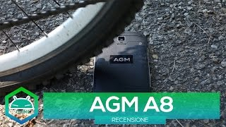 RECENSIONE - AGM A8   Un Rugged Phone sottotono