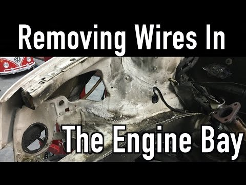 Removing Wires In An Engine Bay