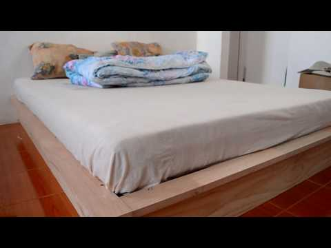 Homemade Platform Bed Build