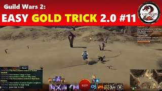 Guild Wars 2: Doing Silverwastes The Right Way (Easy Gold Trick 2.0 #11)