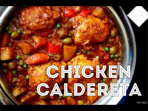 How to Cook Chicken Caldereta