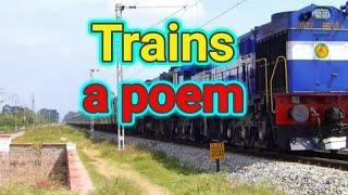 Trains   5th std poem   Maharashtra state board syllabus of English for marathi medium