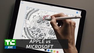 Apple and Microsoft compete for creative professionals
