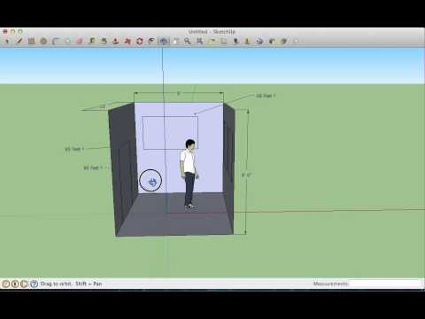 SketchUp Room Design - 1