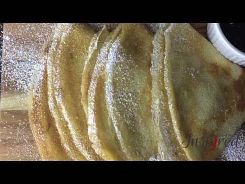 Vanilla Crepes Recipe
