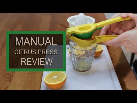 Manual Citrus Press by Zulay | Product Review 11