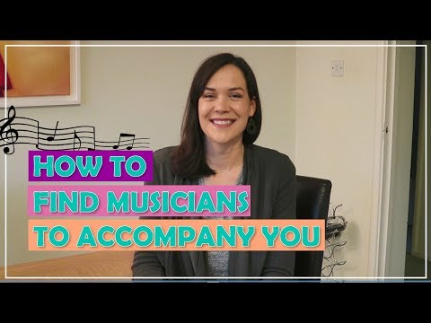 How To Find Musicians To Accompany You // Singer's Secret
