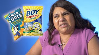 Mexican Moms Try Filipino Snacks