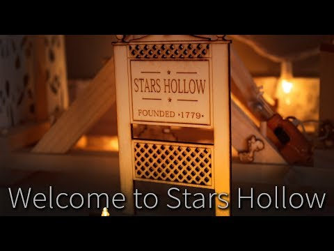 Stars Hollow Sign Laser Cut