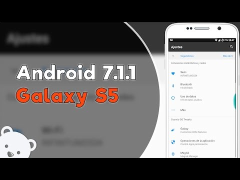 Instalar Android 7.1.1 para Galaxy S5 (G900H) CosmicOS ROM OFICIAL