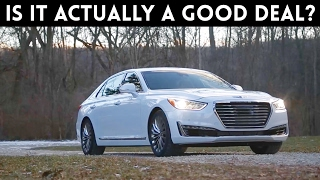 2017 Genesis G90 Review - A half priced S-Class?