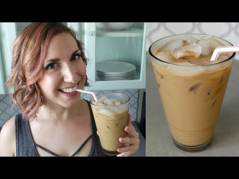 BEST ICED COFFEE | Easy Iced Coffee Recipe (Dairy Free)