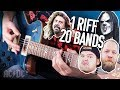 1 Riff 20 Bands - Back In Black! | Pete Cottrell