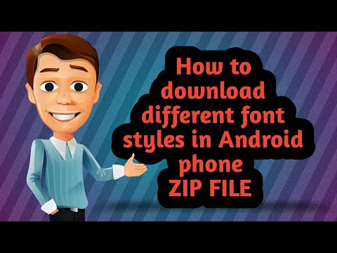 How to download font styles in Android phone by telugu tech guru