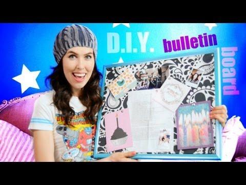 ♥ D.I.Y. ♥ Fabric Bulletin Board!