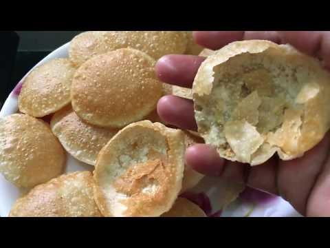 Aata Ke  Golgappe I Atta Pani Puri Recipe In Hindi I गोलगप्पा बनाने की विधि