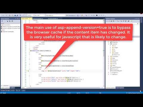 asp-append-version should true for Image in ASP.NET CORE | ASP.MVC 6