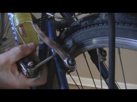 How to Change the Brake Pads on a Bicycle with V-Brakes