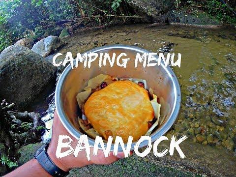 Simple Menu For Camping - BANNOCK