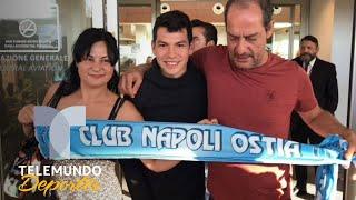 Download Chucky Lozano llega a Italia y comienza su aventura con el Napoli | Telemundo Deportes Video