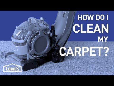 How Do I Clean My Carpet? | DIY Basics