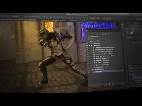 October Update: 3D Animation in Photoshop CC