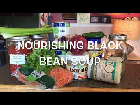 NOURISHING BLACK BEAN SOUP