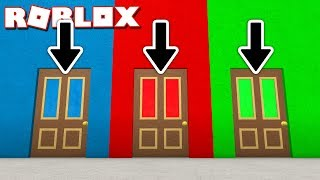 WHICH DOOR TO ESCAPE IN ROBLOX!