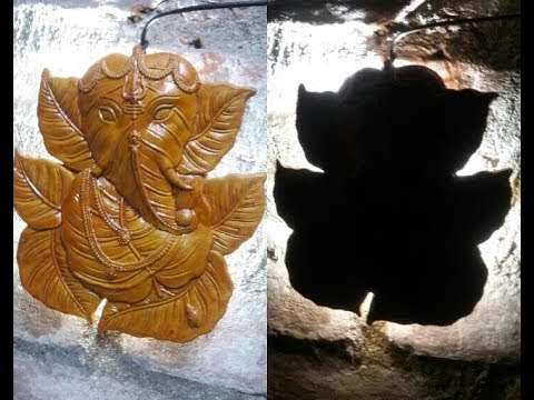 how to make a ganesh  light fiting.......cilik this video