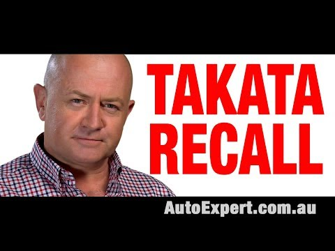 Takata Airbag Recall: Don't disconnect your airbags | Safety Warning | Auto Expert John Cadogan