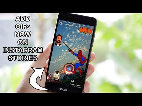 How To Add GIF On Instagram Stories? Instagram update!