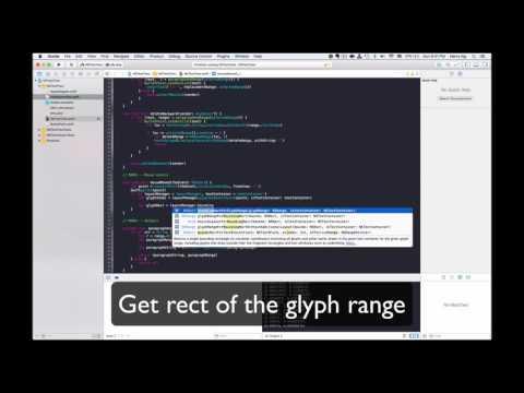 OSX Dev Day 107 - NSTextView - Highlight